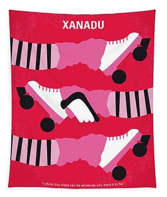 No516 My Xanadu Minimal Movie Poster Tapestry