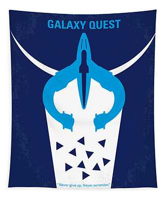No551 My Galaxy Quest Minimal Movie Poster Tapestry