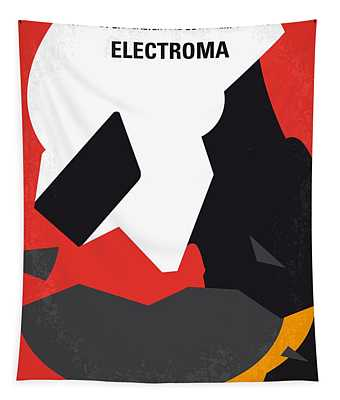 No556 My Electroma Minimal Movie Poster Tapestry