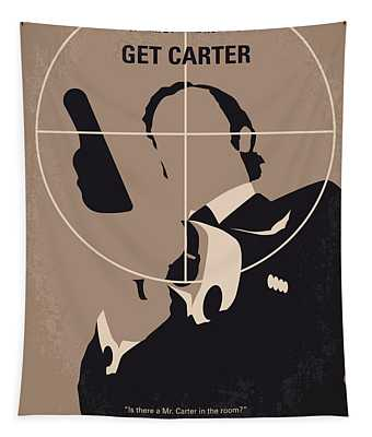No557 My Get Carter Minimal Movie Poster Tapestry
