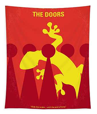 No573 My The Doors Minimal Movie Poster Tapestry