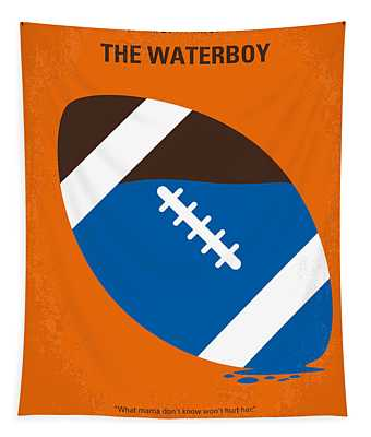 No580 My The Waterboy Minimal Movie Poster Tapestry