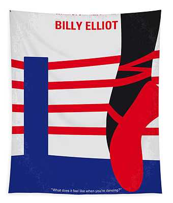 No597 My Billy Elliot Minimal Movie Poster Tapestry