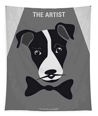 No609 My The Artist Minimal Movie Poster Tapestry