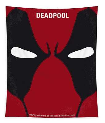 No639 My Deadpool Minimal Movie Poster Tapestry