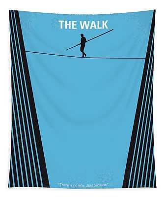 No796 My The Walk Minimal Movie Poster Tapestry
