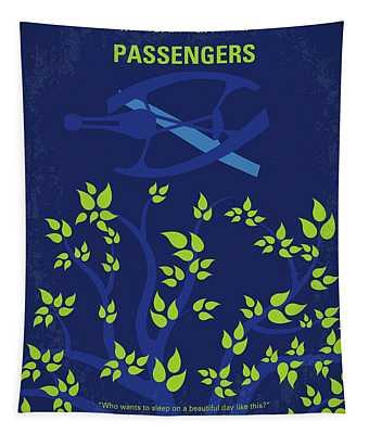 No803 My Passengers Minimal Movie Poster Tapestry