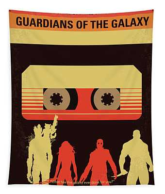 No812 My Guardians Of The Galaxy Minimal Movie Poster Tapestry