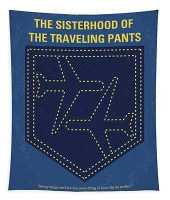 No826 My The Sisterhood Of The Traveling Pants Minimal Movie Poster Tapestry