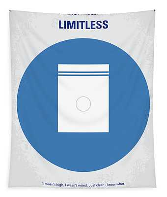 No828 My Limitless Minimal Movie Poster Tapestry