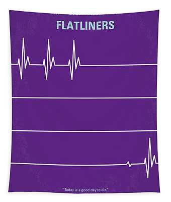 No841 My Flatliners Minimal Movie Poster Tapestry