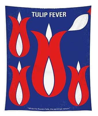 No875 My Tulip Fever Minimal Movie Poster Tapestry