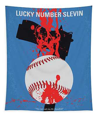 No880 My Lucky Number Slevin Minimal Movie Poster Tapestry