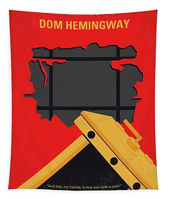 Hemingway Digital Art Wall Tapestries