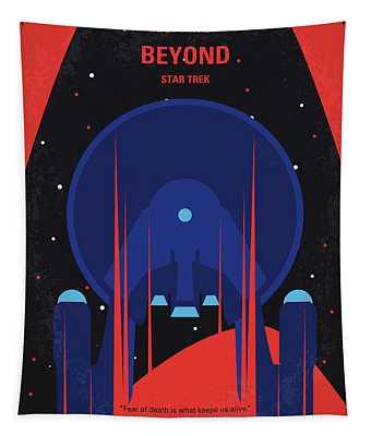 No932 My St Beyond Minimal Movie Poster Tapestry
