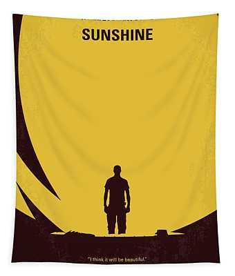 No947 My Sunshine Minimal Movie Poster Tapestry
