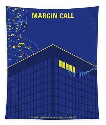 No950 My Margin Call Minimal Movie Poster Tapestry