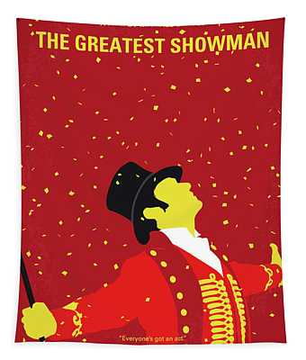 No965 My The Greatest Showman Minimal Movie Poster Tapestry