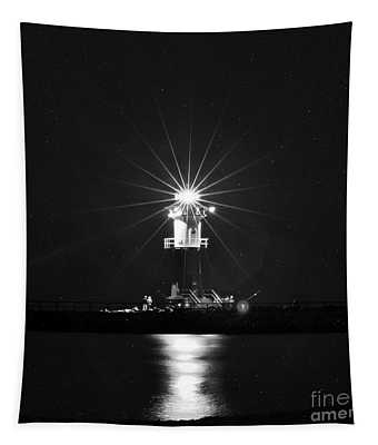 Nocturnal Lighting On The Baltic Sea Tapestry
