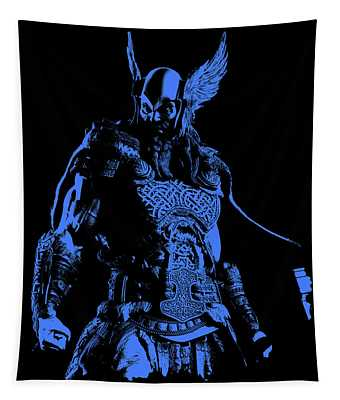 Nordic Warrior Tapestry