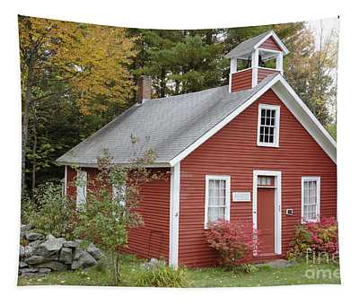 North District School House - Dorchester New Hampshire Tapestry
