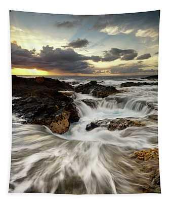 North Kona Coastline Tapestry