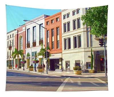 North Rodeo Drive Tapestry
