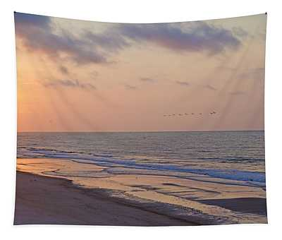 North Topsail Beach Glory Tapestry