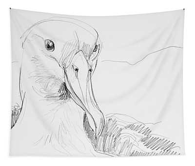 Northern Royal Albatross Tapestry