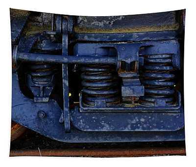 Nostalgic Rail Gears Tapestry