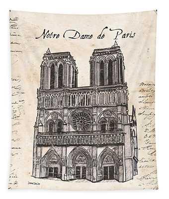 Notre Dame De Paris Tapestry
