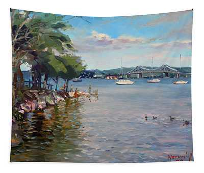 Nyack Park By Hudson River Tapestry