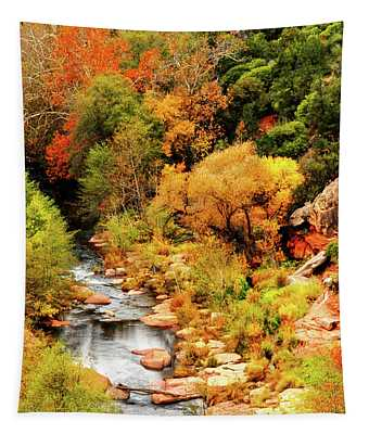 Oak Creek Canyon Tapestry