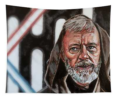 Obi-wan Kenobi's Last Stand Tapestry