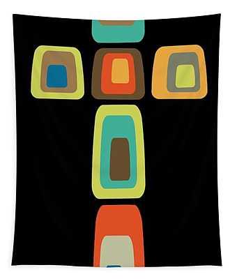 Oblong Cross Tapestry