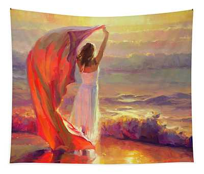 Ocean Breeze Tapestry