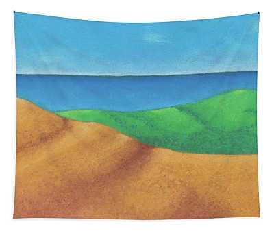 Ocean Daybreak Tapestry