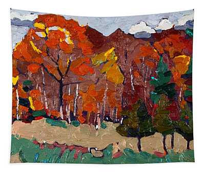 October Forest Tapestry