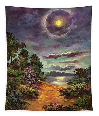 Of Halos, Silhouettes And Shadows Tapestry