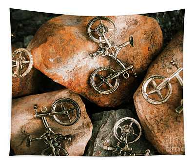 Off-road Cycling Tapestry
