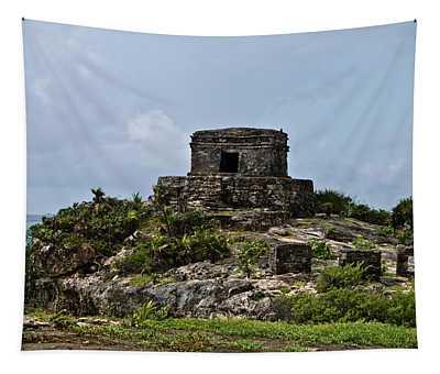 Offertories Telum Ruins Mexico Tapestry
