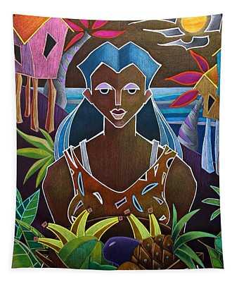 Ofrendas De Mi Tierra II Tapestry
