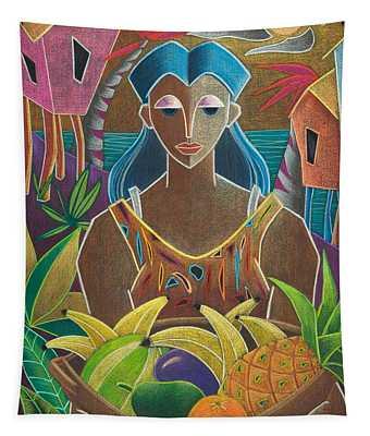 Ofrendas De Mi Tierra Tapestry