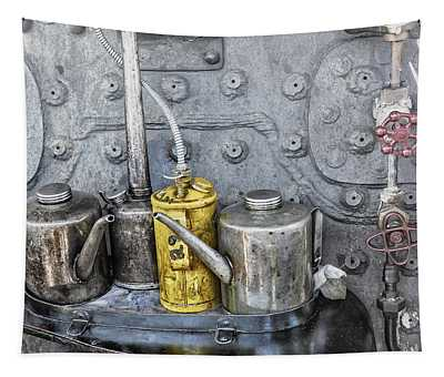 Oil Cans Tapestry