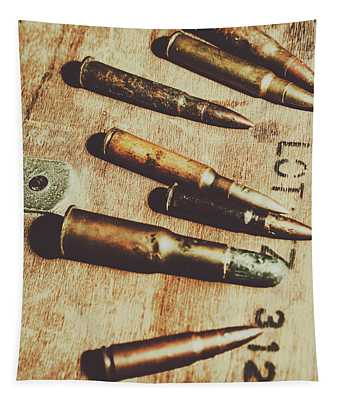 Old Ammunition Tapestry