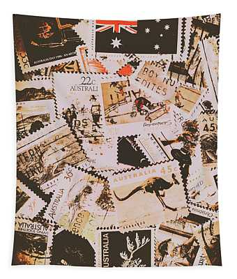 Old Australia In Stamps Tapestry