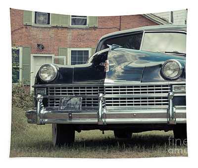 Old Chrysler Sedan Windsor Vermont Tapestry