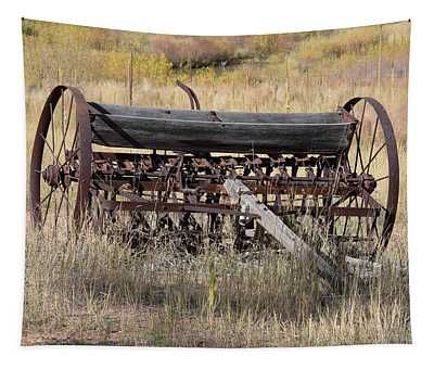 Farm Implament Westcliffe Co Tapestry