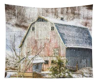 Old Fashioned Values - Country Art Tapestry