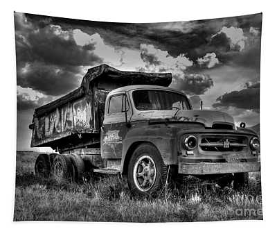 Old International #2 - Bw Tapestry